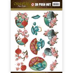SB10251 - Uitdrukvel - Amy Design -  Oriental - Culture
