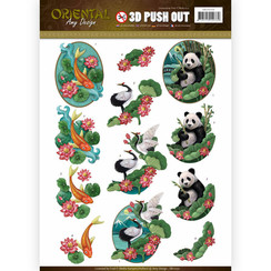 SB10250 - Uitdrukvel - Amy Design -  Oriental - Animals