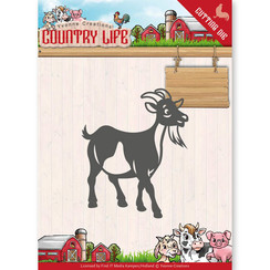 YCD10131 - Mal - Yvonne Creations - Country Life Goat