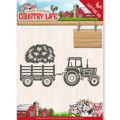 YCD10124 - Mal - Yvonne Creations - Country Life Tractor