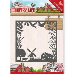 YCD10123 - Mal - Yvonne Creations - Country Life Country Life Frame