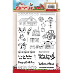 YCCS10039 - Stempel - Yvonne Creations Country Life