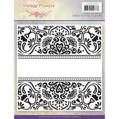 JAEMB10005 - Embossingfolder - Jeanines Art- Vintage Flowers