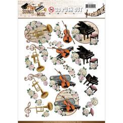SB10243 - Uitdrukvel - Amy Design -  Sounds of Music - Classic