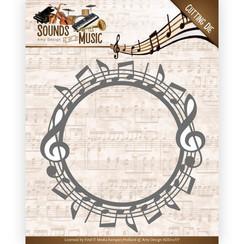 Add10134 - Mal - Amy Design - Sounds of Music - Music Circle