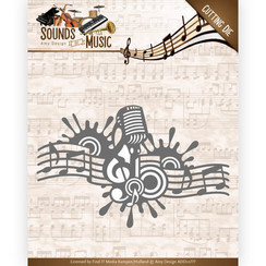 ADD10137 - Mal - Amy Design - Sounds of Music - Music Border