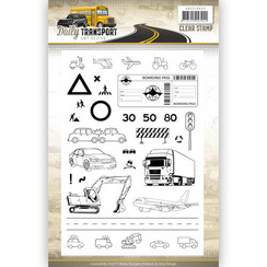 ADCS10035 - Stempel - Amy Design - Daily Transport
