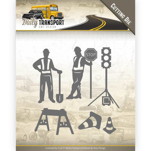 Amy Design ADD10130 - Mal - Amy Design - Daily Transport - Road Construction