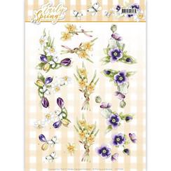 CD11026 - 10 stuks knipvellen - Precious Marieke - Early Spring - Early Daffodils