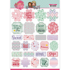 YCL10006 - Labels - Yvonne Creations - Sweet Girls