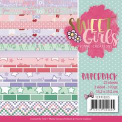 YCPP10015 - Papierpak - Yvonne Creations - Sweet Girls