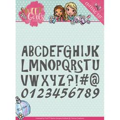 YCD10121 - Mal - Yvonne Creations - Sweet Girls - Lovely Alphabet