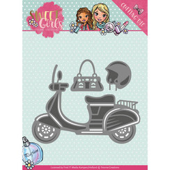 YCD10120 - Mal - Yvonne Creations - Sweet Girls - Scooter