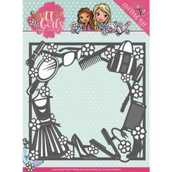 YCD10119 - Mal - Yvonne Creations - Sweet Girls - Fashion Frame