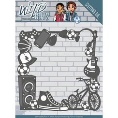 YCD10116 - Mal - Yvonne Creations - Wild Boys - Gadget Frame