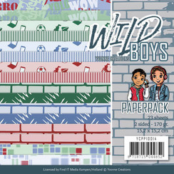 YCPP10014 - Papierpak - Yvonne Creations - Wild Boys
