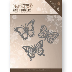 JAD10024 - Mal - Jeanines Art- Classic Butterflies and Flowers - Butterflies
