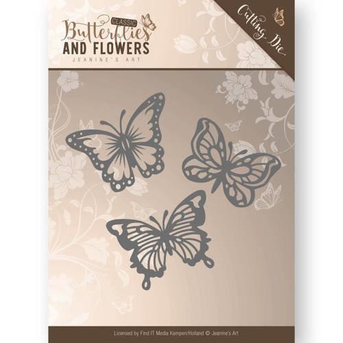 Jeanines Art JAD10024 - Mal - Jeanines Art- Classic Butterflies and Flowers - Butterflies