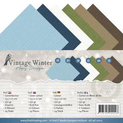 AD-4K-10013 - Linnenpakket - 4K - Amy Design - Vintage Winter