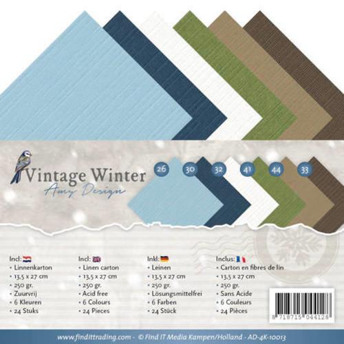 Amy Design AD-4K-10013 - Linnenpakket - 4K - Amy Design - Vintage Winter