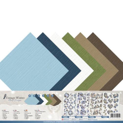 Amy Design AD-SC-10013 - Linnenpakket - SC - Amy Design - Vintage Winter