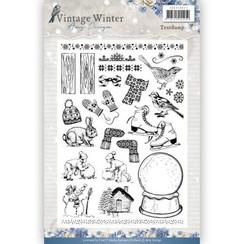 ADCS10021 - Stempel - Amy Design - Vintage Winter