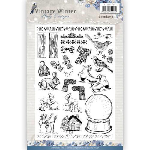 Amy Design ADCS10021 - Stempel - Amy Design - Vintage Winter