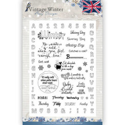 ADCS10023 - Stempel - Amy Design - Vintage Winter - English