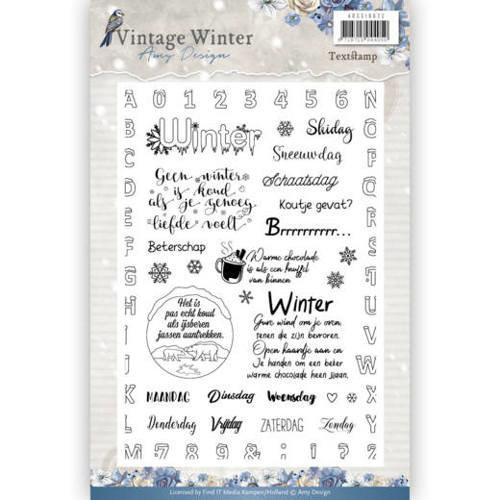Amy Design ADCS10022 - Stempel - Amy Design - Vintage Winter NL