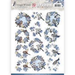 SB10213 - Uitdrukvel - Amy Design - Vintage Winter - Wreaths