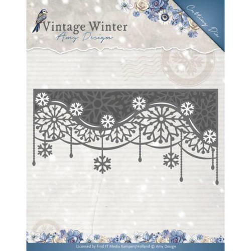 Amy Design ADD10125 - Mal - Amy Design - Vintage Winter - Snowflake Swirl Edge