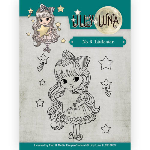 Lilly Luna LLCS10003 - Clearstamp -Lilly Luna - No. 3 Little Star