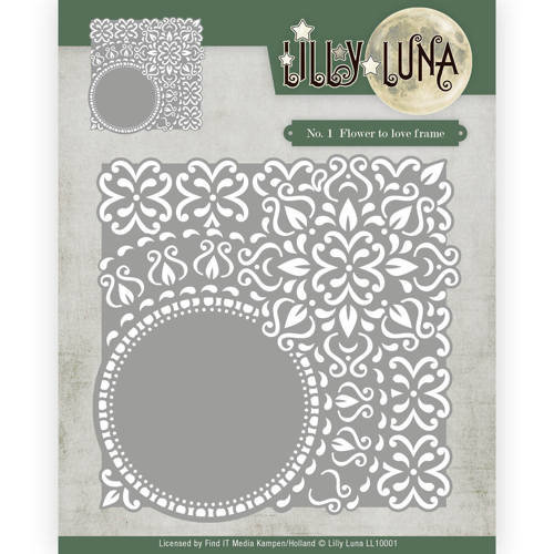 Lilly Luna LL10001 - Mal - Lilly Luna - Flowers to love frame