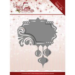 PM10107 - Mal - Precious Marieke - Joyful Christmas - Label ornament