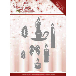 PM10105 - Mal - Precious Marieke - Joyful Christmas - Christmas Candles