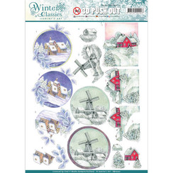 SB10201 - Jeanines Art- Winter Classics - Christmas landscapes - 3D Push Out