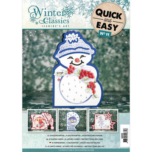 Jeanines Art QAE10011 - Quick and Easy 011 - Jeanines ArtWinter Classics