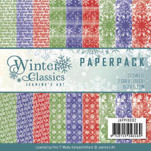 Jeanines Art JAPP10002 - Jeanine Art - Winter Classics - Paperpack