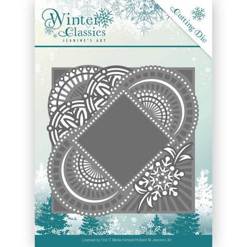 Jeanines Art JAD10017 - Mal - Jeanines Art- Winter Classics - Mirror Frame