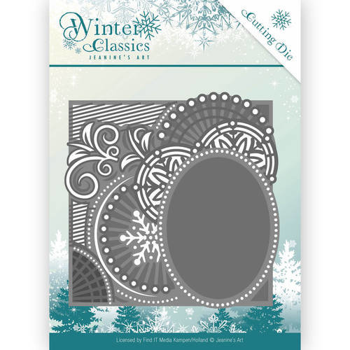 Jeanines Art JAD10016 - Mal - Jeanines Art- Winter Classics - Curly Frame