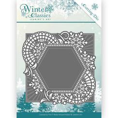 JAD10015 - Mal - Jeanines Art- Winter Classics - Mosaic frame