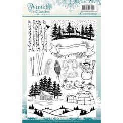 JACS10007 - Stempel - Jeanines Art - Winter Classics