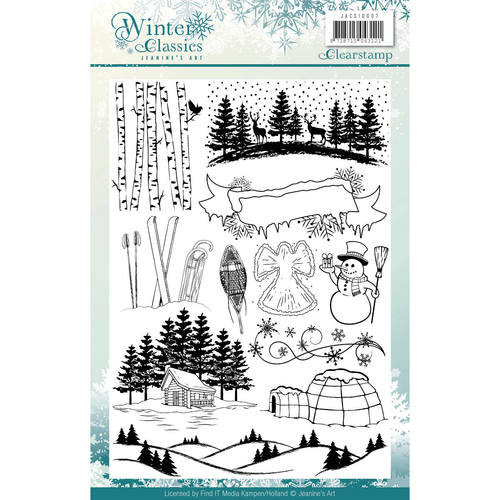 Jeanines Art JACS10007 - Stempel - Jeanines Art - Winter Classics