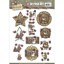 SB10197 - Uitdrukvel - Yvonne Creations - Celebrating Christmas-