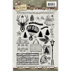 YCCS10036 - Clear Stamp - Yvonne Creations - Celebrating Christmas