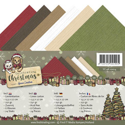 YC-4K-10014 - Linnenpakket - 4K - Yvonne Creations - Celebrating Christmas