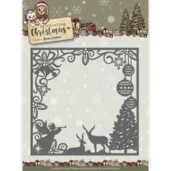 YCD10115 - Mal - Yvonne Creations - Celebrating Christmas- Scene Square Frame