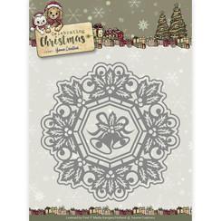 YCD10113 - Mal - Yvonne Creations - Celebrating Christmas- Jingle Bells Circle Frame
