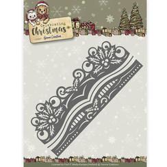 YCD10112 - Mal - Yvonne Creations - Celebrating Christmas- Holly Border