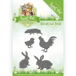 ADD10119 - Mal - Amy Design - Sweet Pet - Rodents and Birds